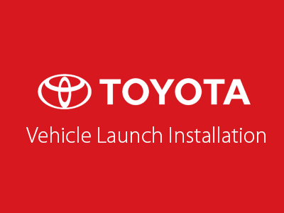 Toyota Corporate Atrium Vehicle Installations