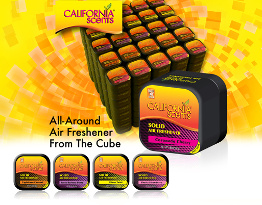 California Scents product Social Media content