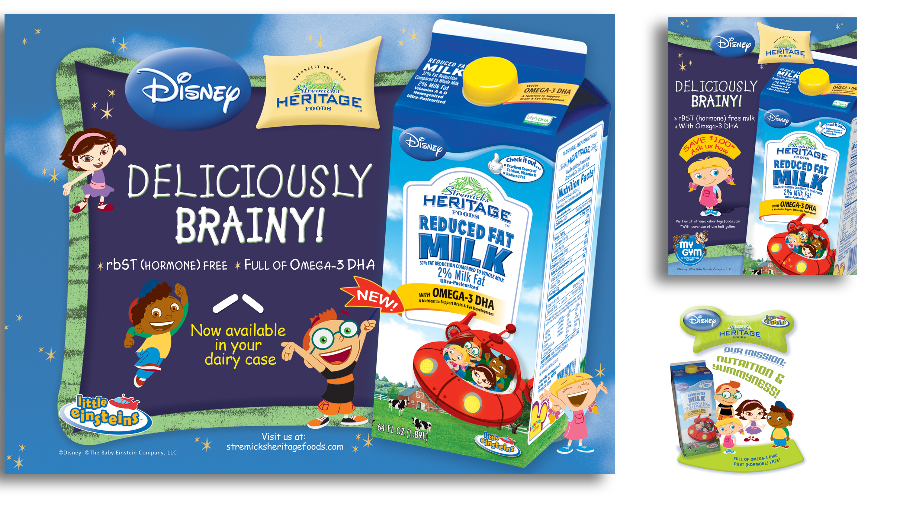 Disney's Little Einsteins and Stremicks Heritage Foods Co-op  Ads