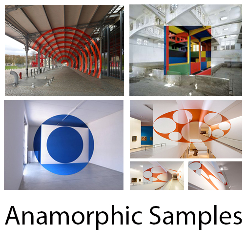 Concept designs samples for Snapdragon Experiential Anamorphic  Design