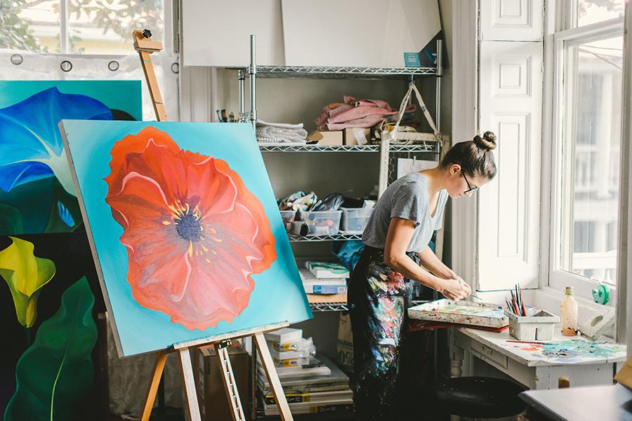 Staff Spotlight: Julia, Office Manager & Artist