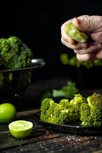 fat burning food- high insoluble fiber broccoli