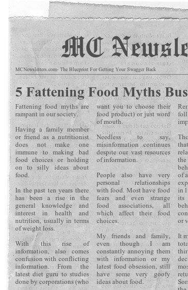 5 Fattening Food Myths Busted