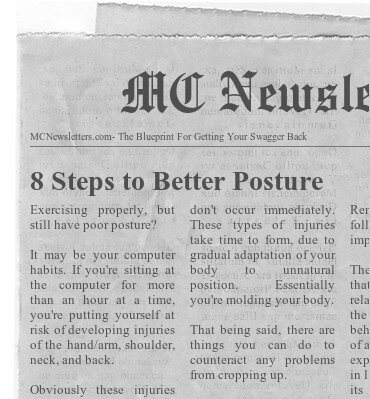 8 Steps to Better Posture
