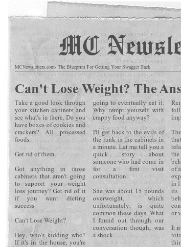 Can't Lose Weight? The Answer Could Be On Your Shelves