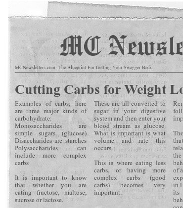 Cutting Carbs for Weight Loss