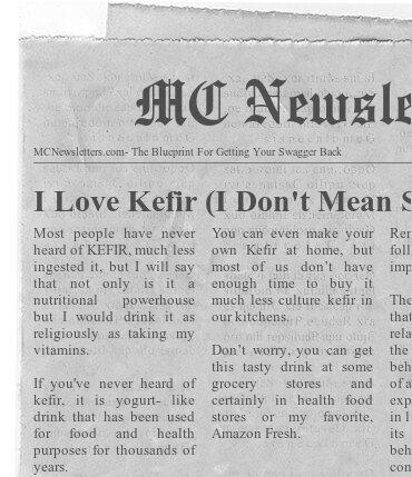 I Love Kefir (I Don't Mean Sutherland)