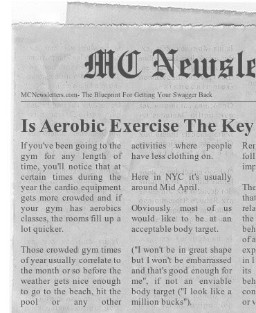 Is Aerobic Exercise The Key To Keeping Weight Off?