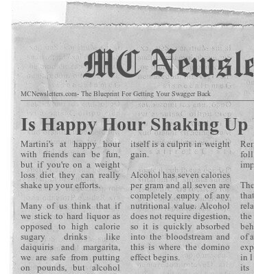 Is Happy Hour Shaking Up Your Weight Loss Efforts?