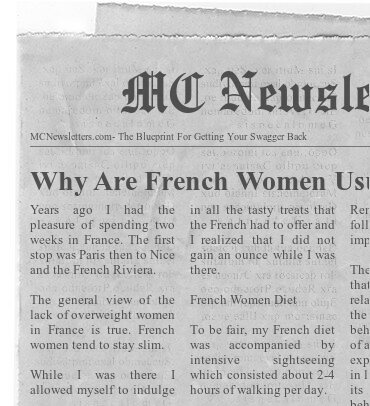 Why Are French Women Thinner?