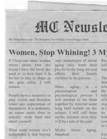 Women, Stop Whining! 3 Myths About Aging Smashed