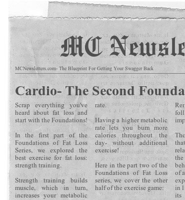 Cardio- The Second Foundation of Fat Loss
