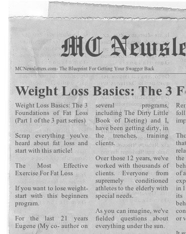 Weight Loss Basics The 3 Foundations of Fat Loss