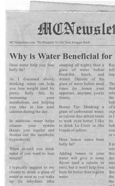 Why is Water Beneficial for Weight Loss?