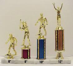 Trophies from R&R Specialties