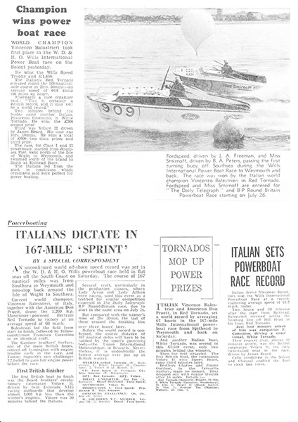 Champion Wins Power Boat Race