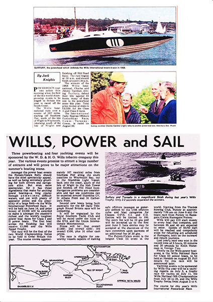Wills, Power and Sail