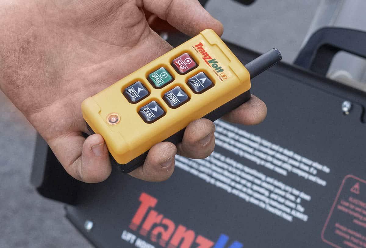 TranzVolt Roofing Platform Remote Control