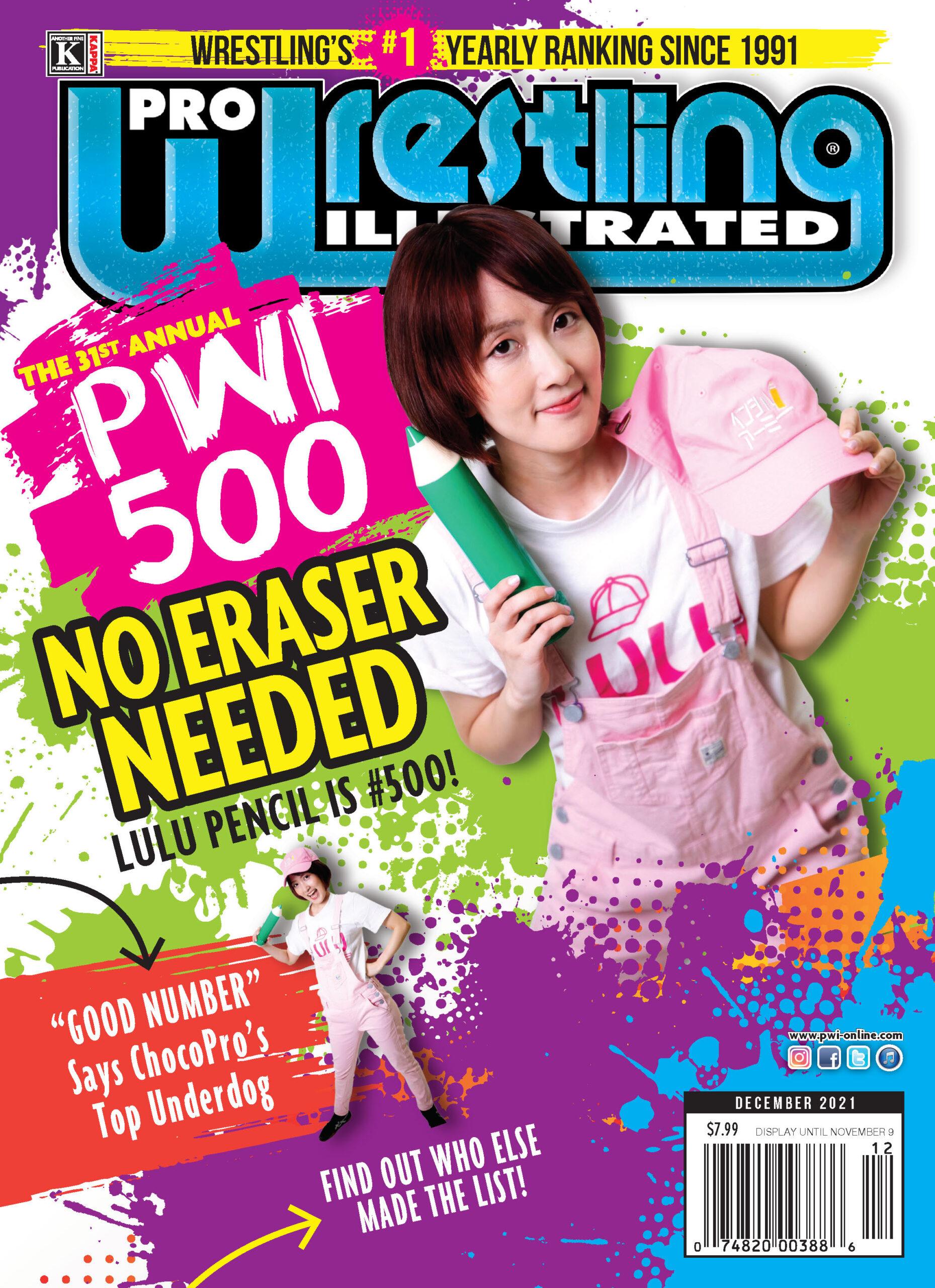 PWI December 2021 Alt Cover - Lulu Pencil