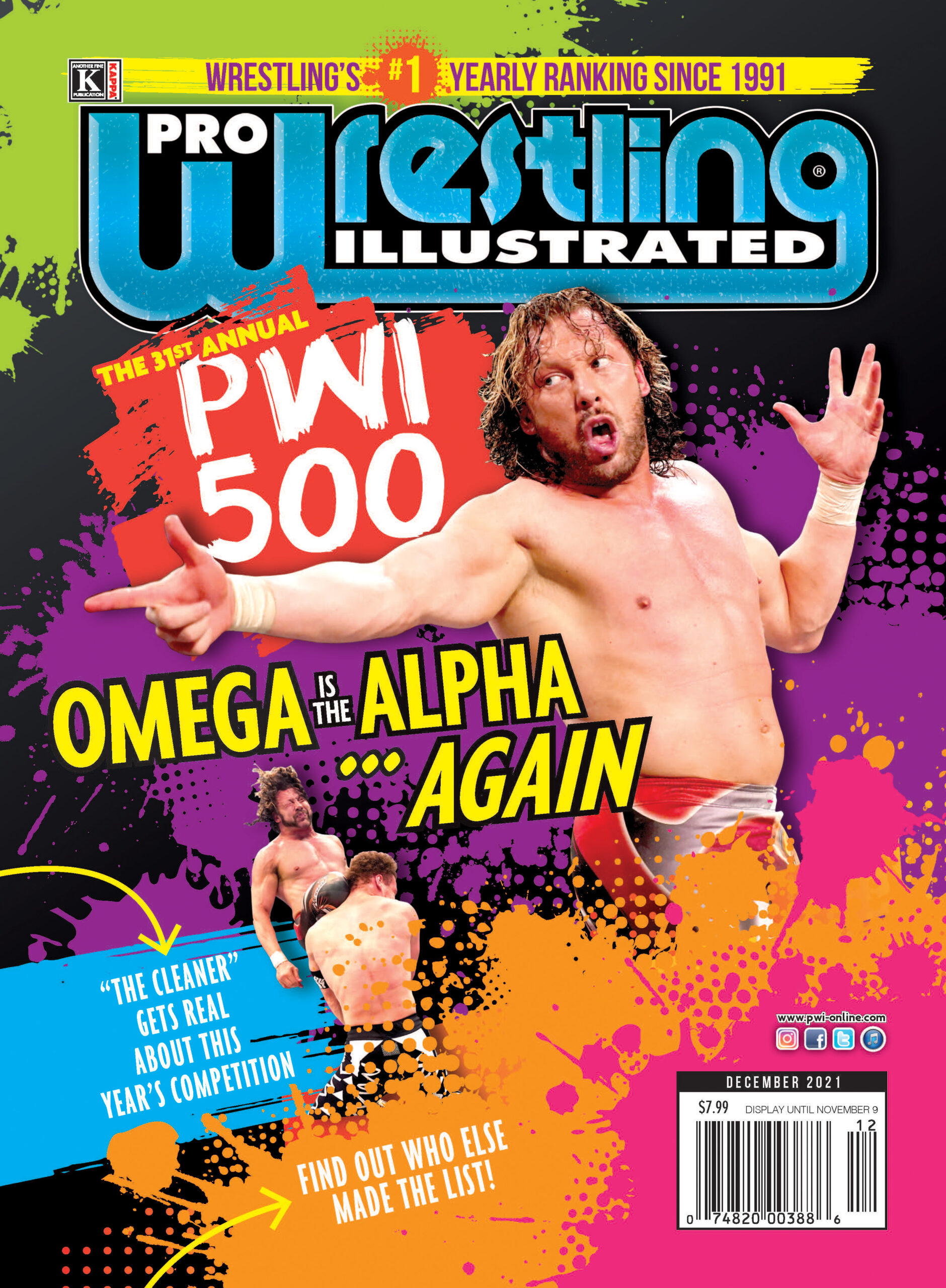 Kenny Omega Tops 2021 PWI 500 List, Top 10 Revealed 1
