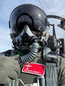 Lt Bunnell, serves as Second Vice President of the Indianapolis Chapter of Tuskegee Airmen Inc.