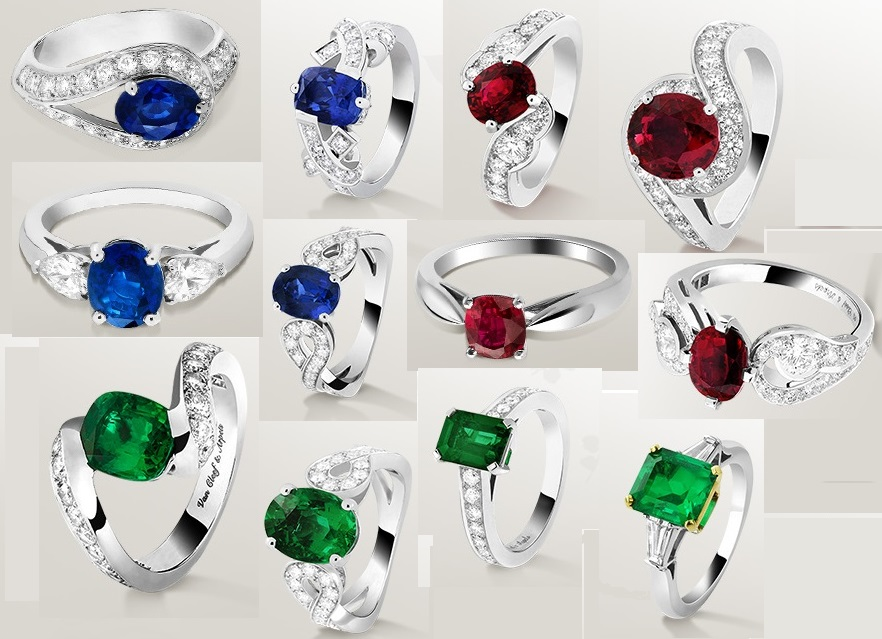 Gorgeous Van Cleef & Arpels Engagement Rings