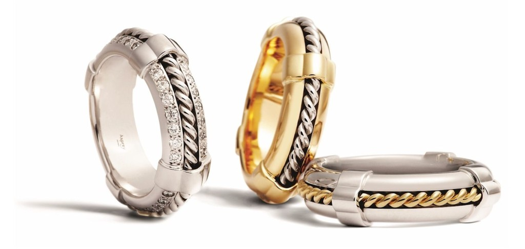 THE LIFE RING COLLECTION Inspired by the Asprey archive, a unisex ring to symbolise love, friendship and life.