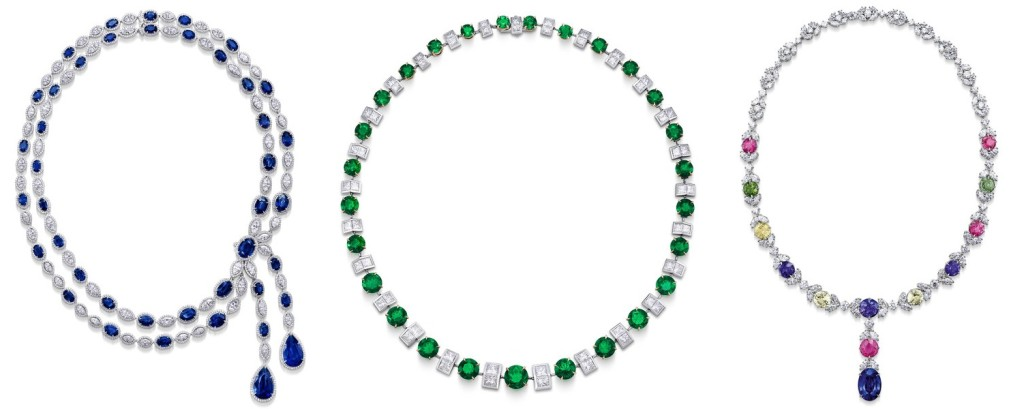 Gorgeous Gemstone and Diamond Necklace Designs