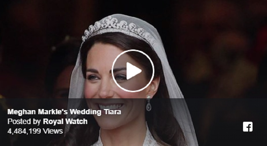 Meghan Markle's Wedding Tiara