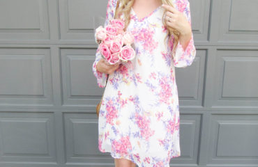 Pink Blush Floral Dress