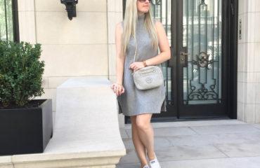 Grey Knit Dress- Marshalls