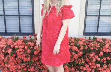 Off the shoulder Dress on livin' life with style