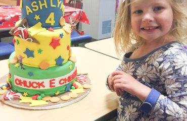 Chuck e cheese birthday cake on livin' Life with Style