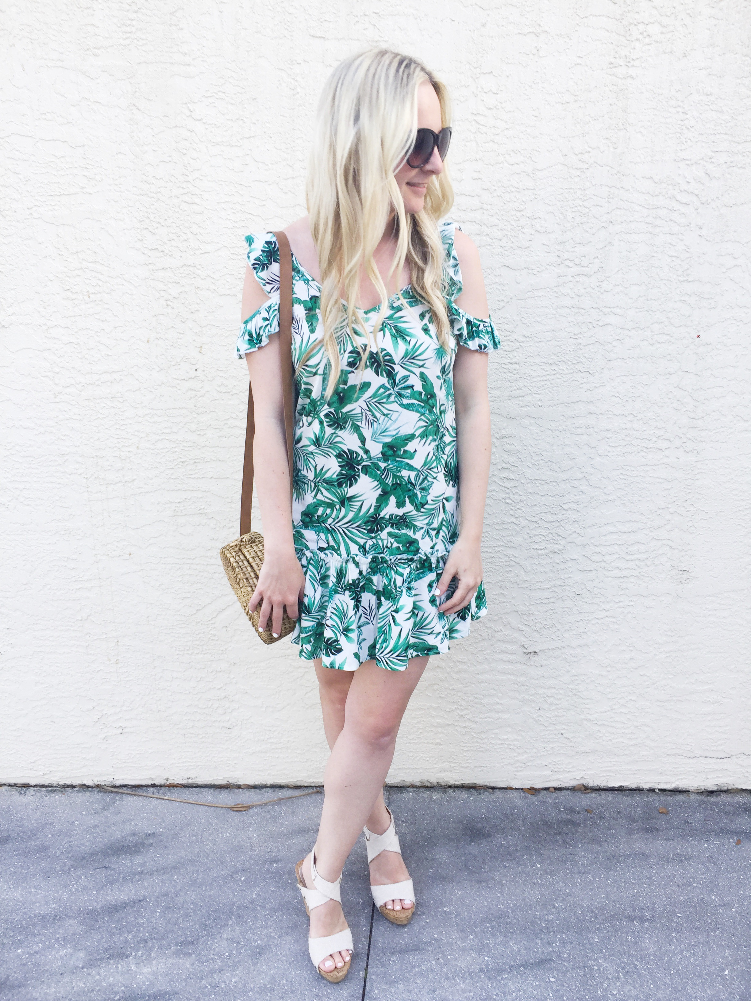 Palm Leaf Dress from Winners on Livin' Life with Style