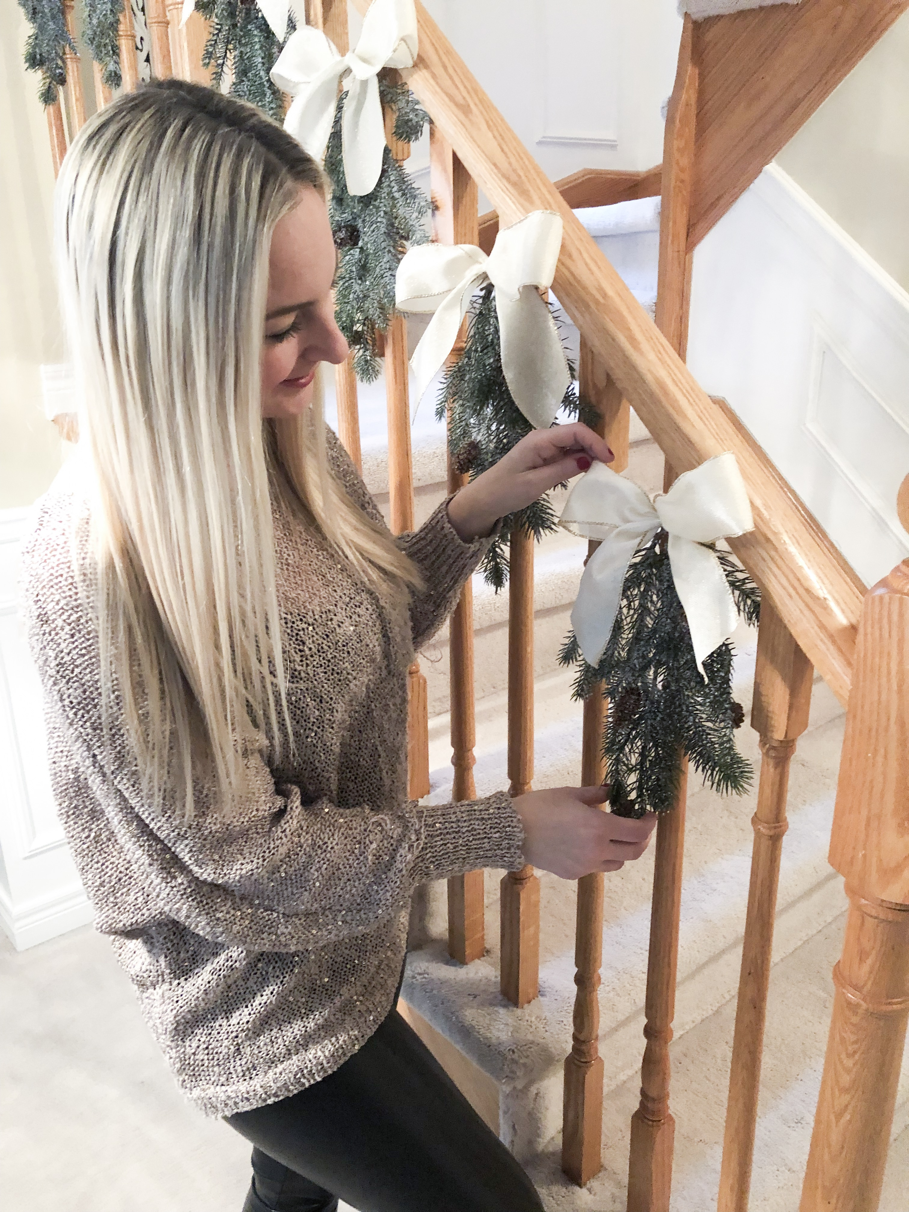 A Twist on the Traditional Christmas Garland