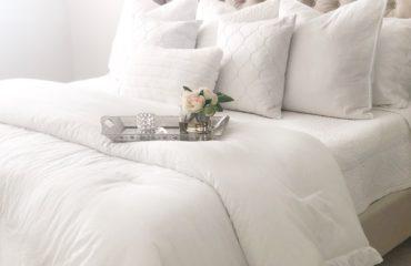 White Bedding - HomeSense; Livin Life with Style