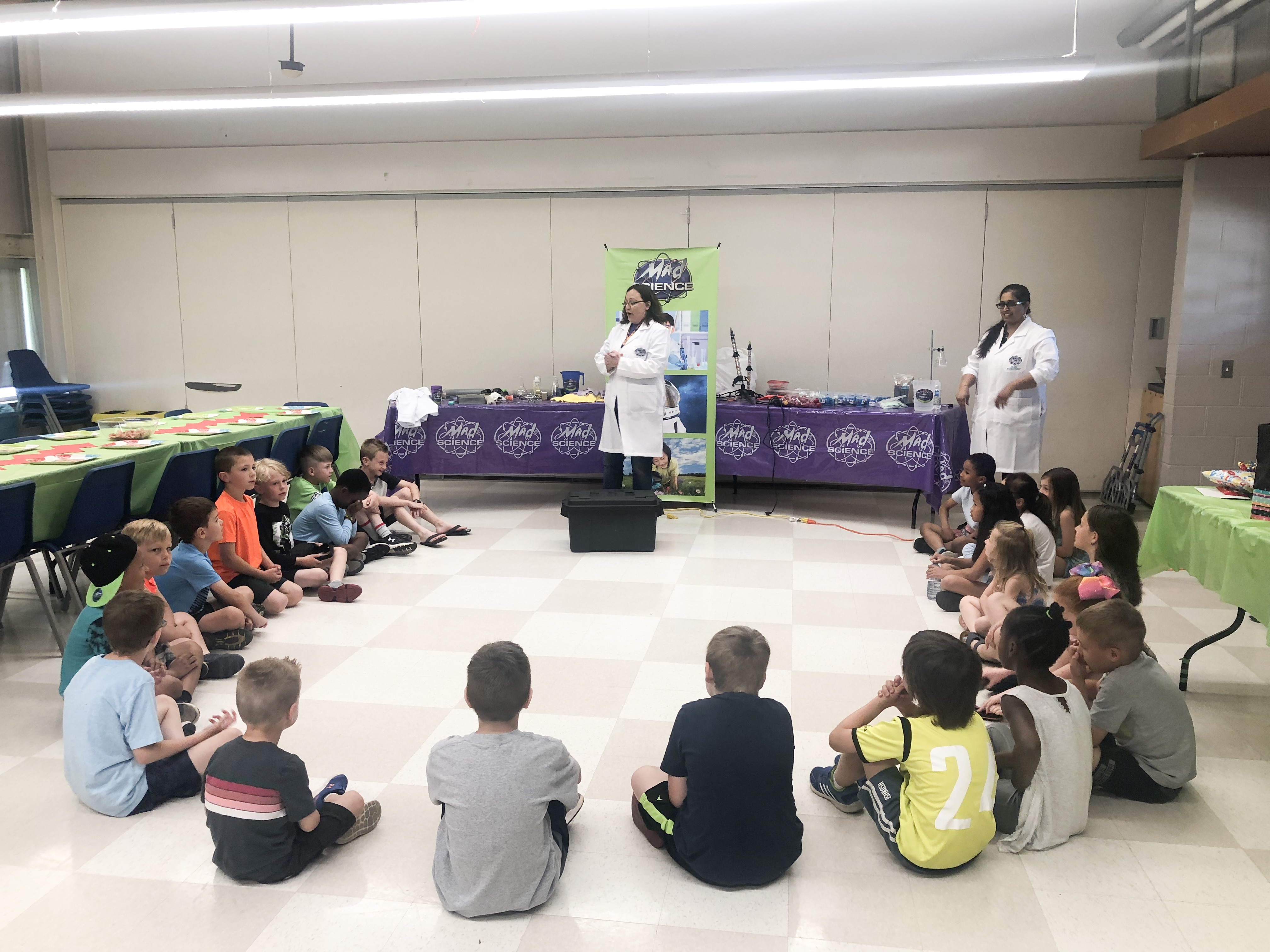 Kids Birthday party ideas; Mad Science Party on Livin' Life with Style