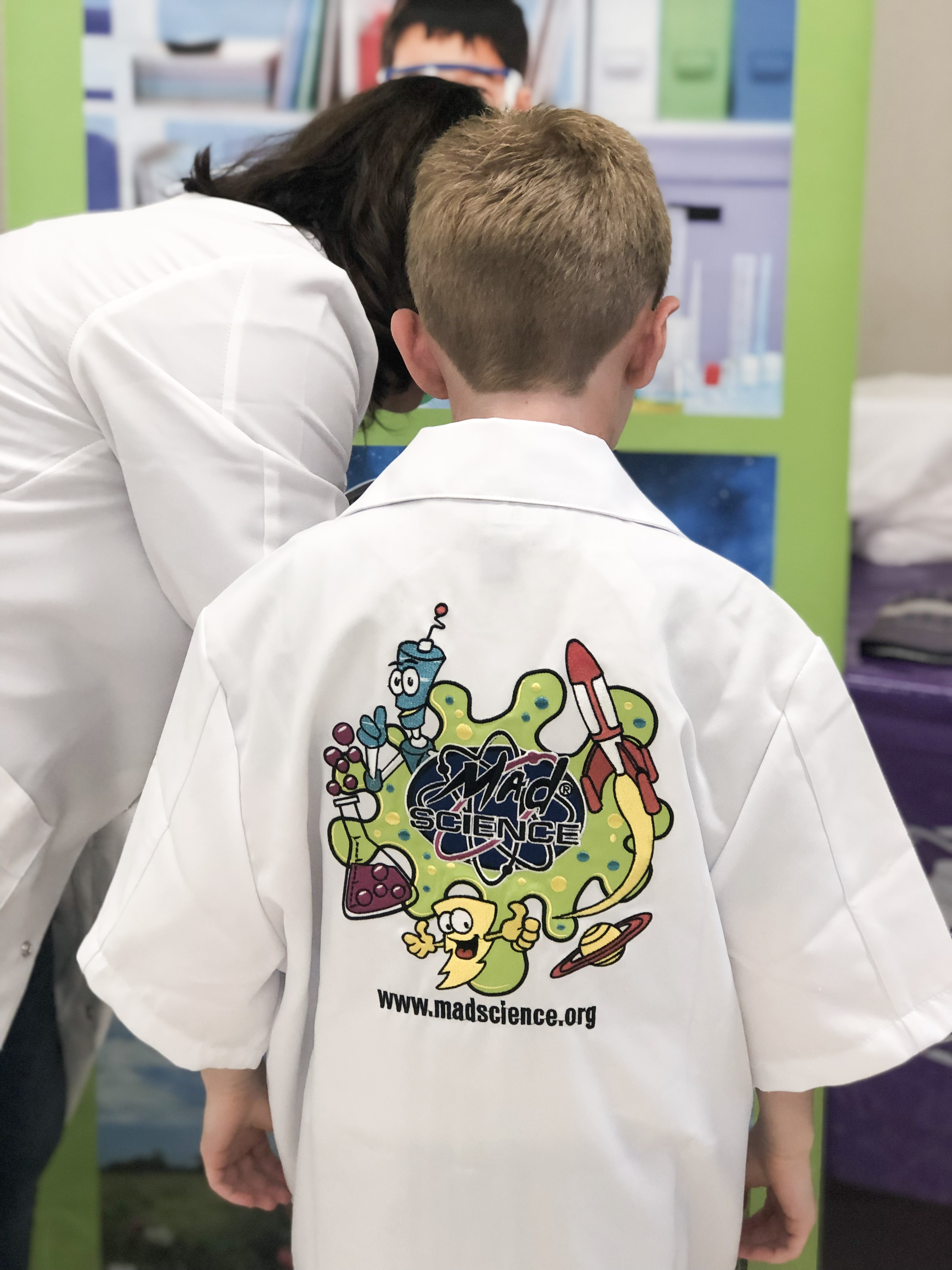 Mad Science Birthday Party on Livin' Life with Style