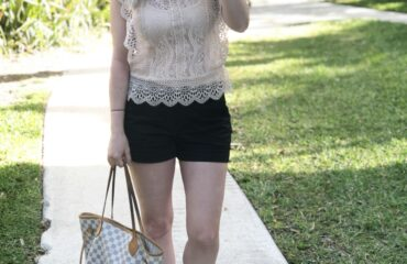 Summer look from Zara on Livin' Life with Style