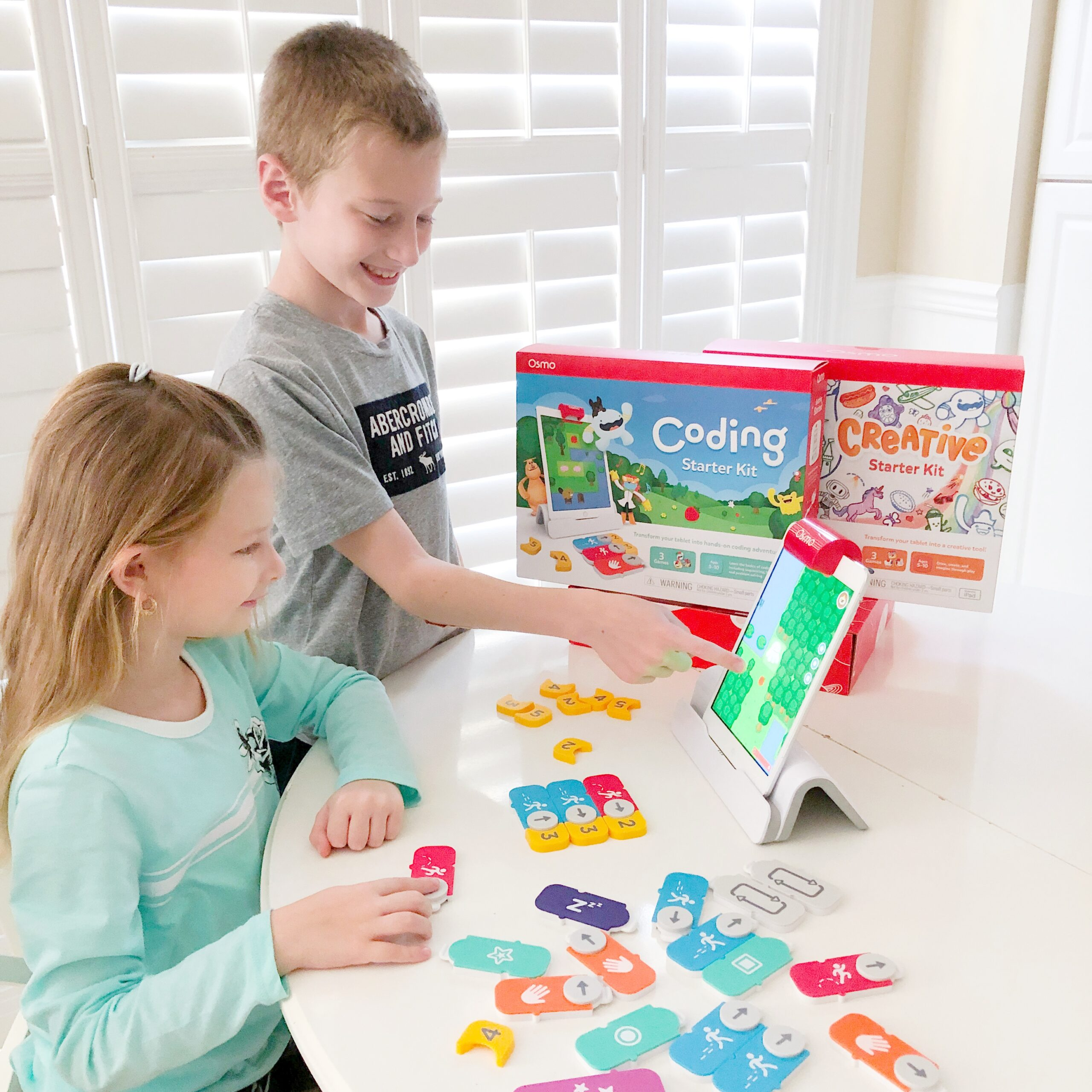Review on the Osmo Coding Start Kit, and the Monster Creative Kit on Livin' Life with Style