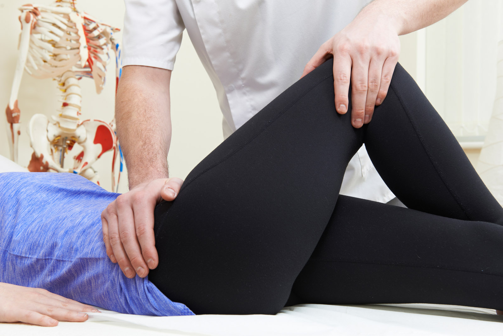 Hip and pelvis discomfort