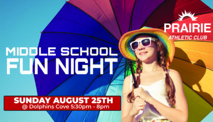 Middle School Fun Night at Dolphins Cove in Sun Prairie