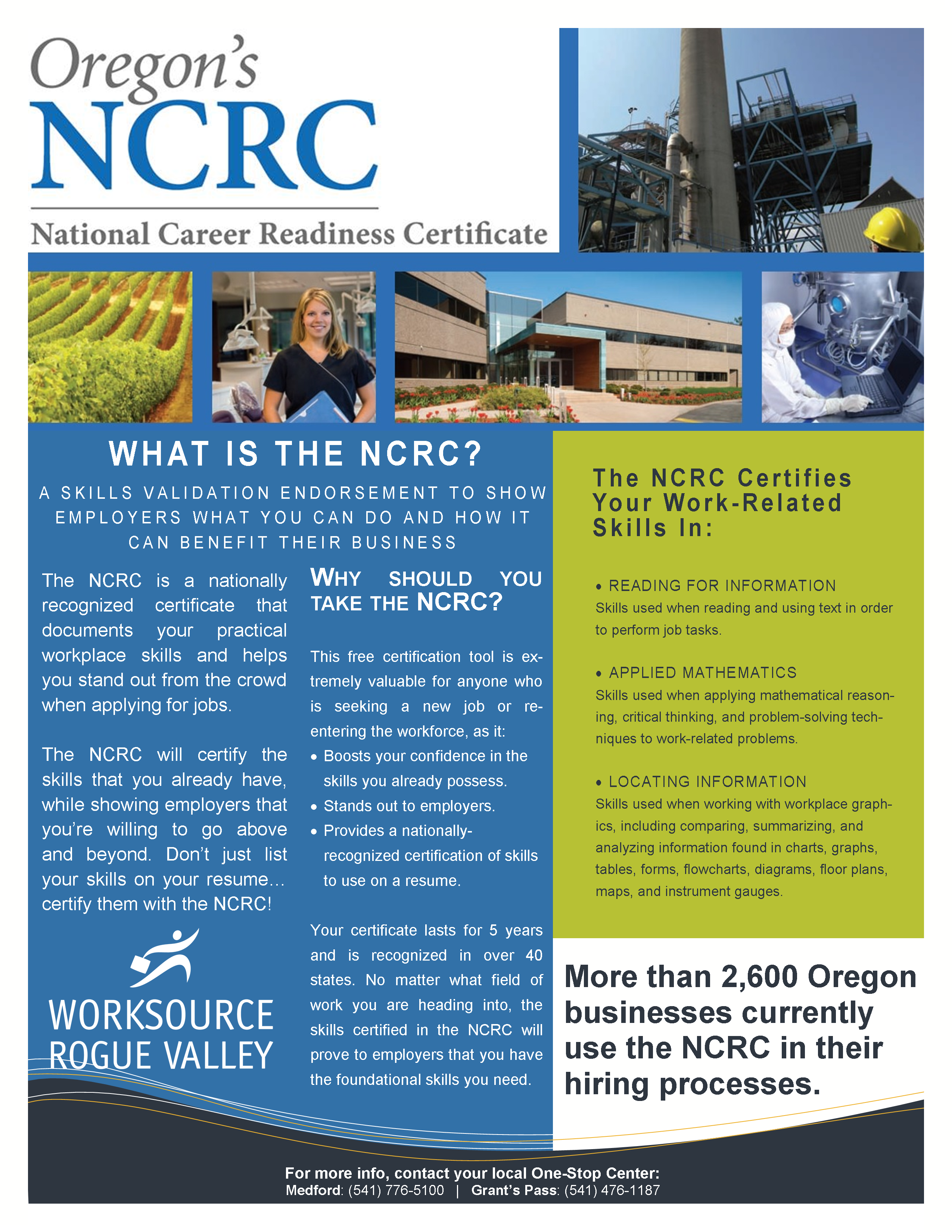 NCRC 1 page - Website new