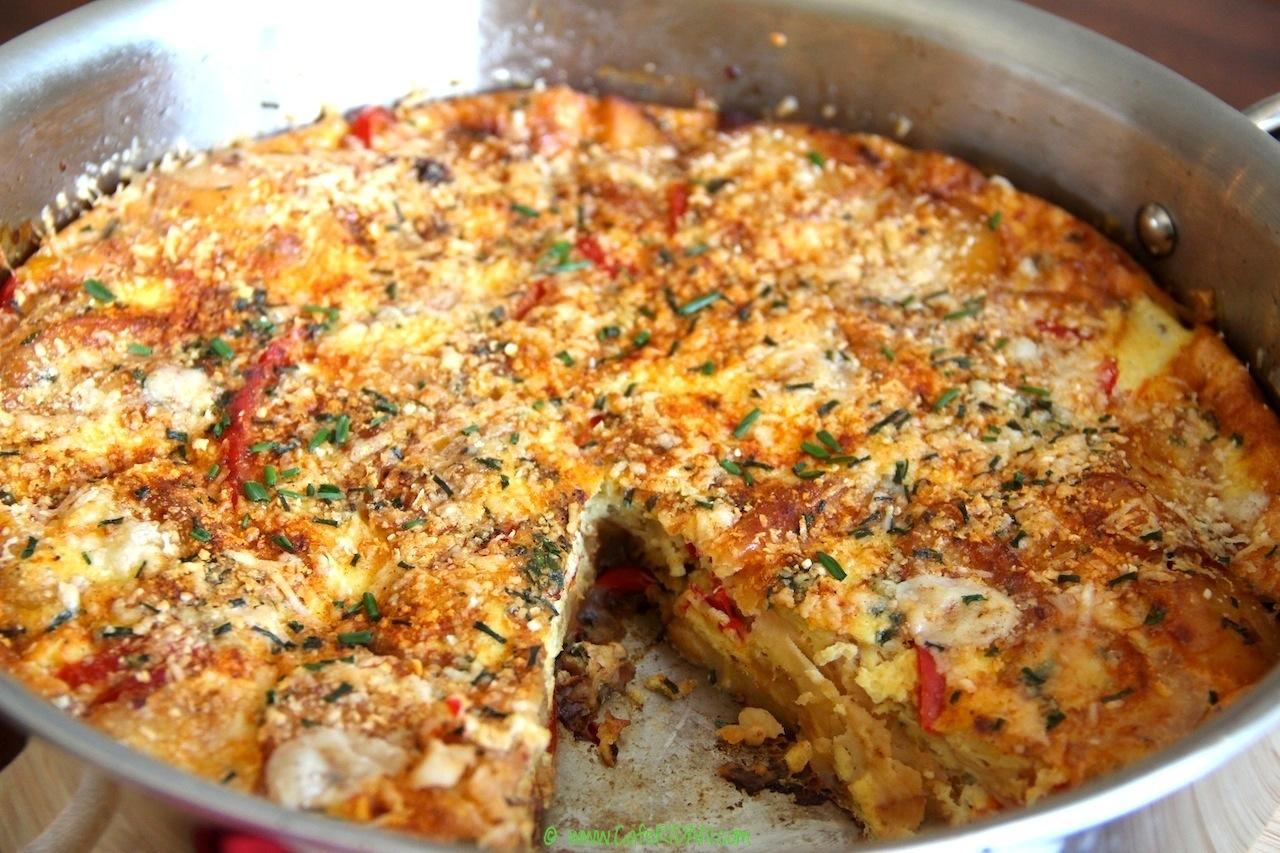 Spanish frittata 4