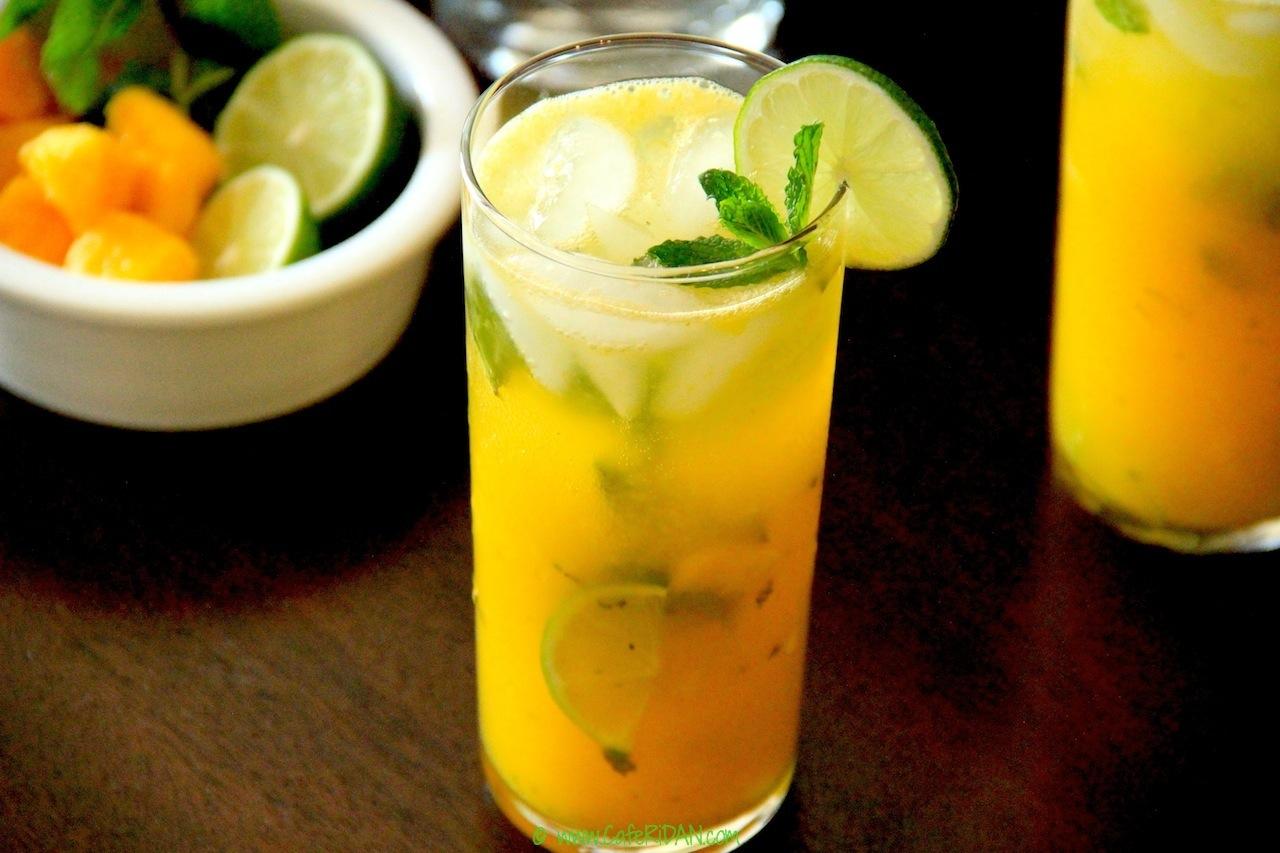 Minty Mango Summer Cooler