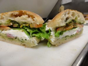 goat cheese rustica sandwich
