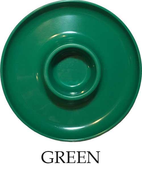 Dark Green Plate