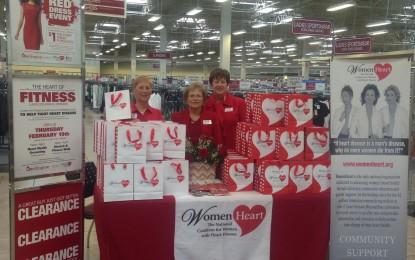 Burlington Stores dona $1.16 Millones a WomenHeart como Resultado de su 4to Evento Anual 'Red Dress Event'