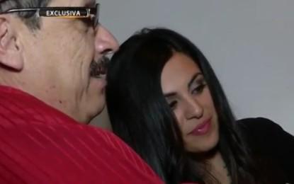 Adriana Almanza quiere que Donald Trump conozca a su padre