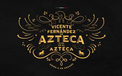 """""""Un Azteca En El Azteca"""" Vicente Fernández se despide de su público en un histórico concierto"""